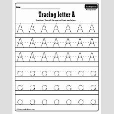 Alphabet Tracing Worksheets Az Free Printable Bundle