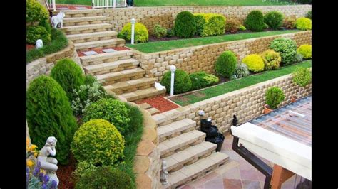 Garden Retaining Wall by How To Build Garden Retaining Wall Decorifusta