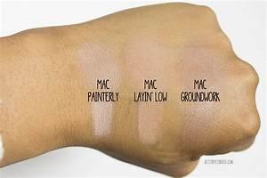 MAC Paint Pots: Painterly, Layin' Low, Groundwork brittnyTV