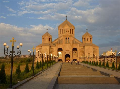 Saint Gregory The Illuminator Cathedral In Yerevan, Armeni