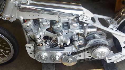 Four Aces Twin Engine Triumph Drag Bike