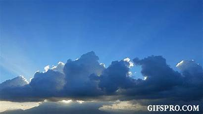 Clouds Cumulus Sunset Timelapse Near Animated Gifspro
