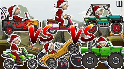 hill climb racing monster truck hill climb racing 2 monster truck vs sportscar vs