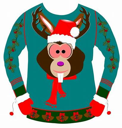 Sweater Ugly Christmas Clipart Sweaters Clip Royalty
