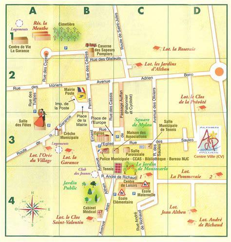 Mairie Ville De Plan De Plans Ville Carte