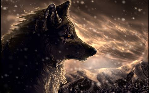 Wolf Anime Wallpapers - cool anime wolf wallpapers 56 images