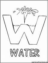Coloring Water Pages Letter Preschool Alphabets Activities Drop Fun Conservation Worksheets Crafts Letters Printable Print Preschoolers Alphabet Abc Kindergarten Colouring sketch template