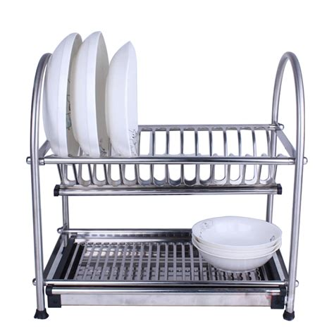 kitchen dishes organizer aliexpress buy 304 stainless steel dish drainer 1555