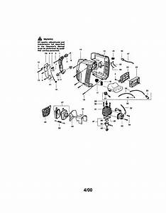 Craftsman 358797251 Gas Leaf Blower Parts