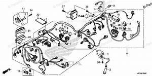Honda Atv 2019 Oem Parts Diagram For Wire Harness