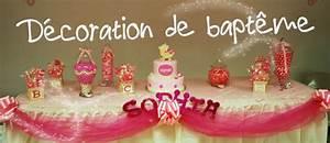Decoration Pour Bapteme Fille : idee deco bapteme fille a faire soi meme ~ Mglfilm.com Idées de Décoration