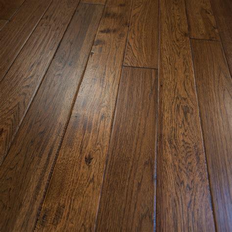 solid hardwood floor hickory hand scraped prefinished solid wood flooring 5 quot x3 4 quot jackson hole rustic hardwood
