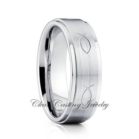 titanium wedding ring titanium wedding band jesus fist