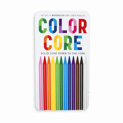 Pencils Colored Core Pencil Ooly Lapiceros Crayons