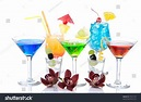 Popular Alcohol Cocktails Composition Different Types ...