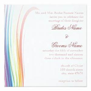 Rainbow Theme Invitations & Announcements | Zazzle.co.uk