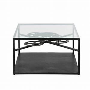 Plateau Maison Du Monde : table basse bois metal maison du monde ~ Preciouscoupons.com Idées de Décoration