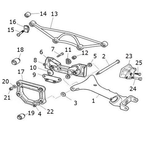 Jaguar Suspension Parts by Wishbones And Mounting Rear Terrys Jaguar Parts