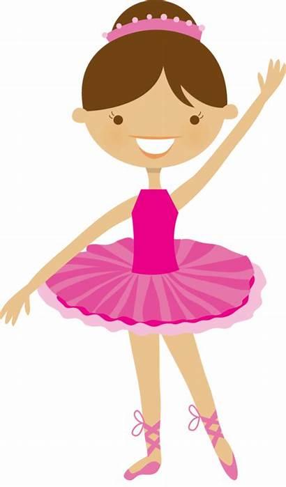 Ballet Ballerina Clipart Clip Dance Princess Ballerinas