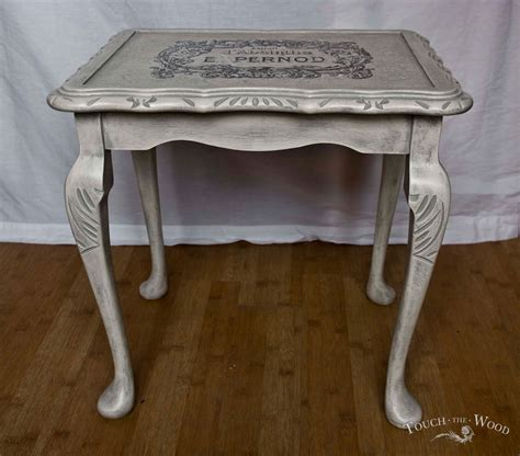 shabby chic vintage tables vintage shabby chic single nest table no 05 touch the wood