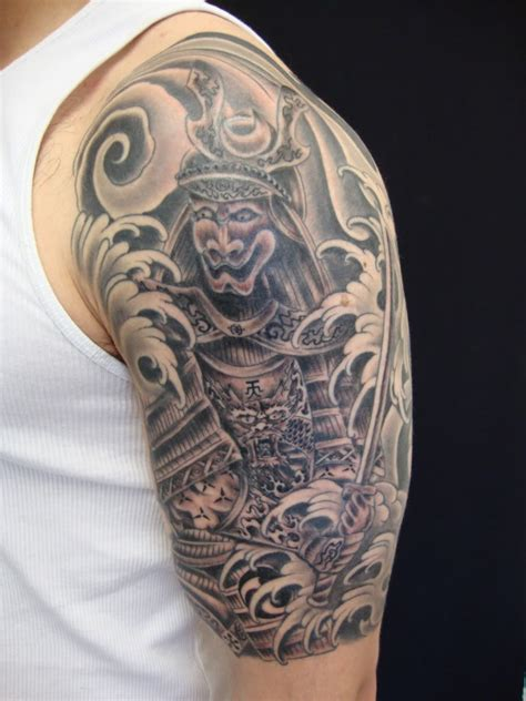 tattoos  pinterest  sleeve tattoos samurai tattoo