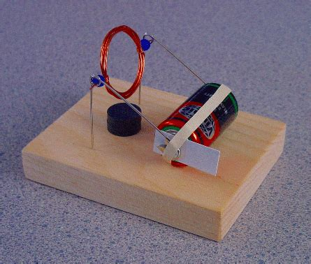 Electric Motor Experiment by How To Make A Simple Motor Sf Cool Science Fair