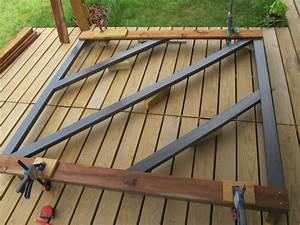comment fabriquer un portail en bois maison paille With comment fabriquer une porte en acier