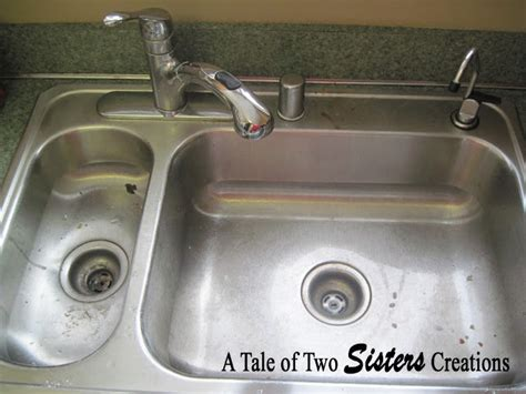 sink drain smell cleaner a tale of two sisters creations how to clean a stainless