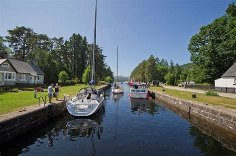 Loch Ness Canal Boat Hire by Boating On The Caledonian Canal Scottish Canals