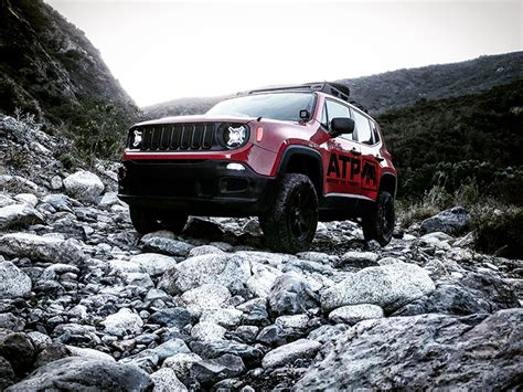 jeep renegade compass lift kit