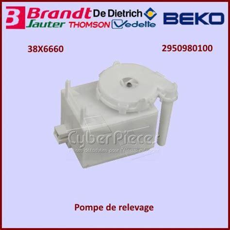 pompe de relevage 38x6660 2950980100 pour seche linge lavage pieces detachees electromenager