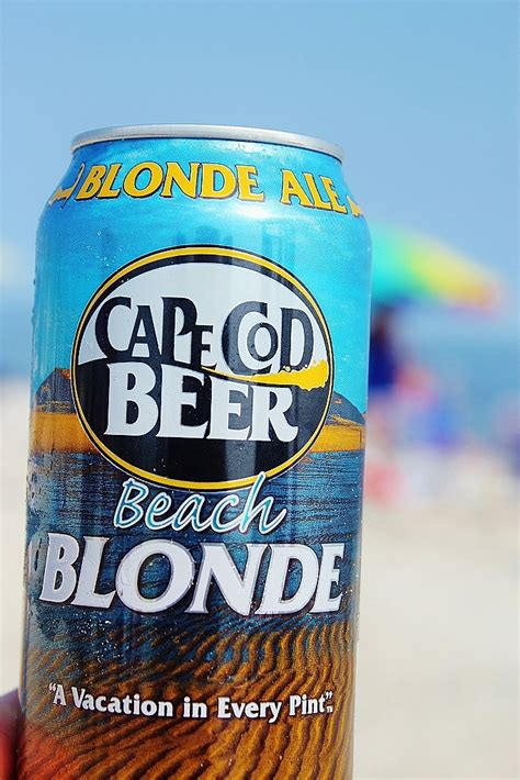 Beach Blonde Cape Cod Beer  New England Story