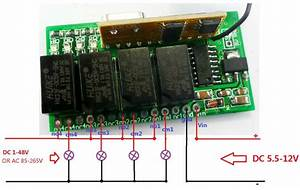 2019 Super Mini Dc 5v 9v 12v 433 92m 4ch Rf Wireless Remote Control Relay Switch For Pt2262