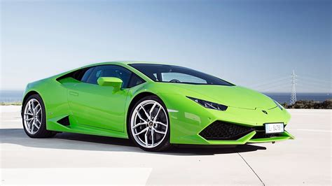 2018 Lamborghini Huracan Lp610 4 Green Wallpaper Hd Car