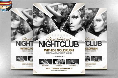 Club Flyer Template - Costumepartyrun