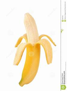 Peeled Banana Stock Photography - Image: 5407912