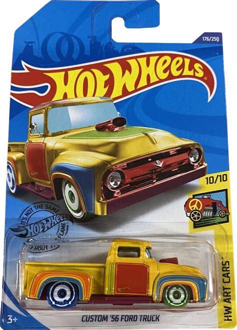 custom  ford truck hot wheels  treasure hunt