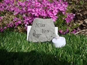 miss you memorial grave ornament memorial gifts uk special memorials
