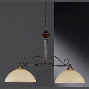 Lampe Mit Mehreren Lampenschirmen : stilvolle h ngelampe 2 leuchten ~ Markanthonyermac.com Haus und Dekorationen