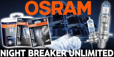 osram breaker unlimited h7 osram breaker unlimited car bulbs in h1 h3 h4 h7 h11 hb3 hb4 fittings ebay