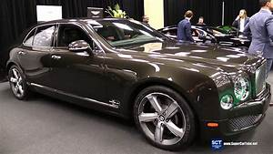 Bentley Mulsanne 2016 : 2016 bentley mulsanne speed exterior and interior walkaround 2016 montreal auto show youtube ~ Maxctalentgroup.com Avis de Voitures
