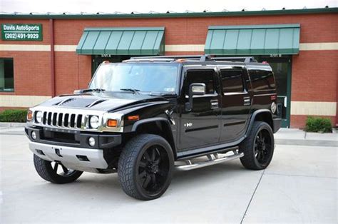 amazing hummer mpg purchase used hummer h2 nav dvd 26 quot wheels