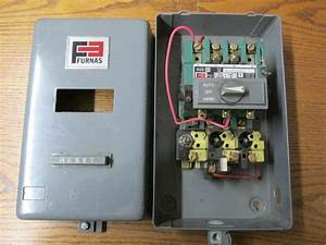 Furnas 14bf34baa Three Phase Magnetic Starter 110  240v 60hz
