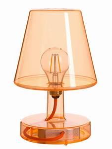 Lampe Ohne Erdung : lampe ohne kabel transloetje von fatboy orange h 25 5 made in design ~ Orissabook.com Haus und Dekorationen