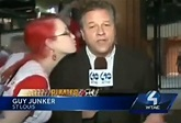 Video: Cardinals fan goes to kiss Pittsburgh reporter on ...