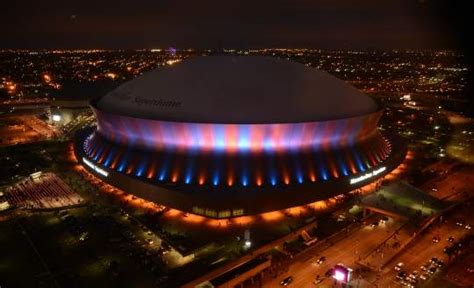 lighting inc new orleans superbowl xlvii countdown to kick off clock provided by