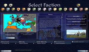 French campaign selection map image - Firestorm's ...
