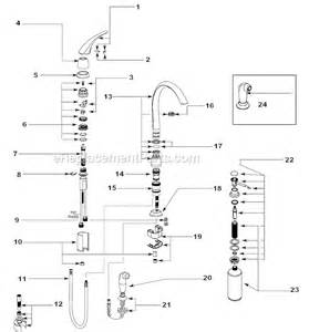 aerator kitchen faucet moen single handle kitchen faucet installation