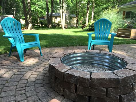 built in outdoor pit patio with built in fire pit savwi com