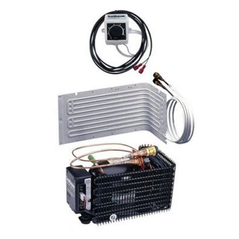 isotherm compact classic air cooled marine refrigeration diy build in kit l shape evaporator